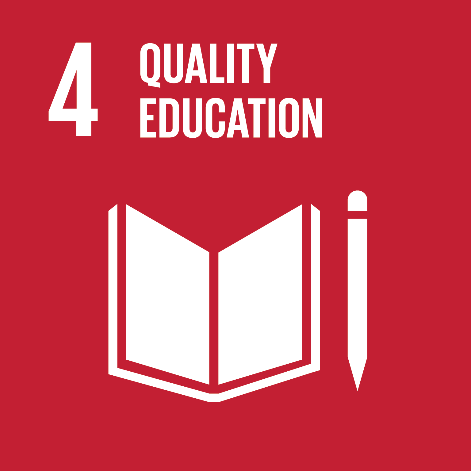 Quality education logo.